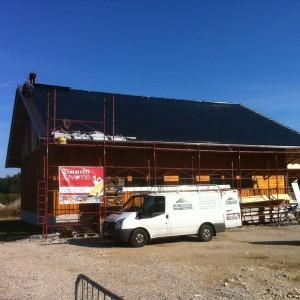 vollflächige Edelstahl-Solaranlage