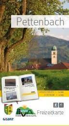 Titelseite Freizeitkarte Pettenbach