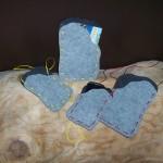 Kartentaschen aus Filz